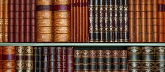 legal books on shelf