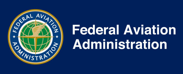 "image of the FAA logo and the words ""Federal Aviation Administration"""